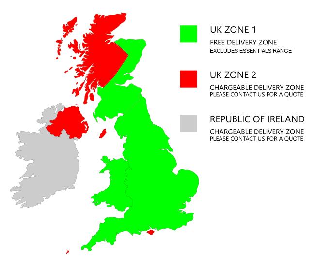 UK Delivery Zones